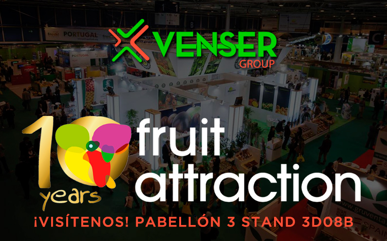 Venser Group will be present at the Fruit Attraction in Madrid 2018